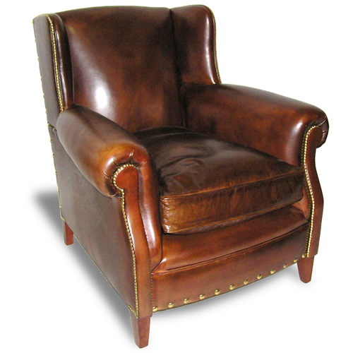 Charmant English Club Chair (Item #1191)