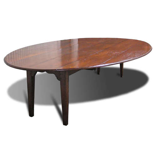 View Furniture HL Holland Antique Reproduction Furniture - Oval farm table