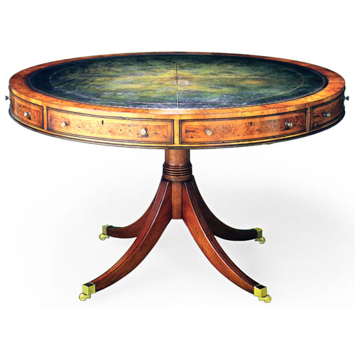 Magnificent Drum Table in yew, 48 inches wide (Item #3810-48-YL) 500 x 500 · 39 kB · jpeg