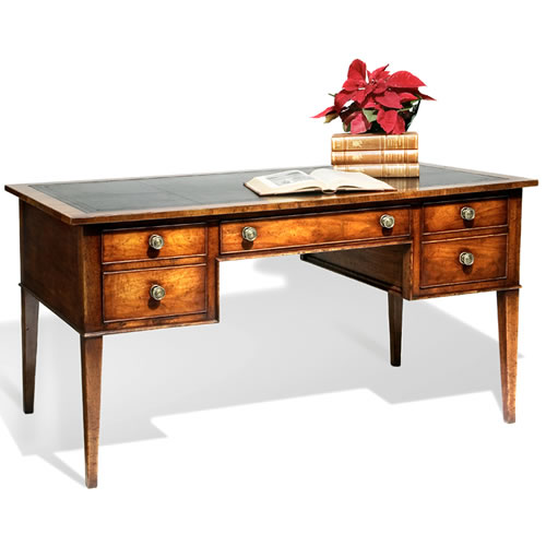 Country Italian Writing Table - Antique Reproduction Desk, Country Italian Writing Table