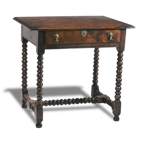 Etonnant Bobbin Leg Side Table (Item #9909)
