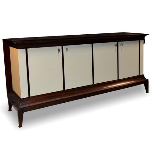 Moderne Credenza (Item #B1211-72) - View Baker HL Holland Antique Reproduction Furniture